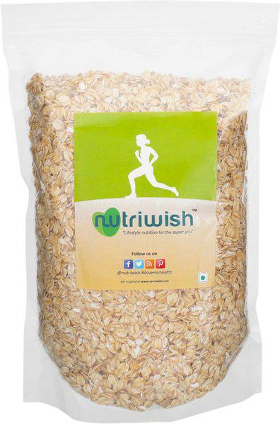 Nutriwish Healthy Rolled Oats(1250 g, Pouch)