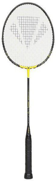 Carlton Vintage 1982 Yellow Strung Badminton Racquet(G4 -3.25 Inches, 84 g)