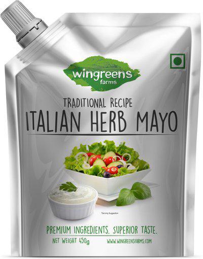 Wingreens Farms Italian Herb Mayo (450g) 450 g