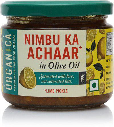 Organica Nimmbu Ka Aachar Lemon Pickle(300 g)
