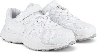 Nike Boys Lace Sneakers(White)
