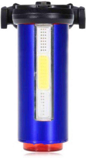 Asraw Waterproof 360 Degree USB Rechargeable Bike Tail LED Safety Light LED Rear Break Light(Blue)