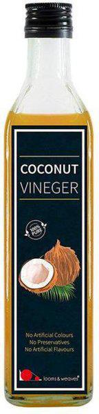looms & weaves Coconut Vinegar - 500 ML Coconut Oil Glass Bottle(500 ml)