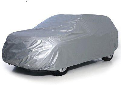 Auto Addict Car Cover For Volkswagen Polo Cross (Without Mirror Pockets)(Silver)