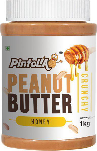 Pintola All Natural Honey Peanut Butter (Crunchy) 1 kg
