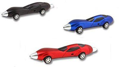 Oytra Cute Car with Wheels Pen for Kids (Set of 3) Ball Pen(Pack of 3)