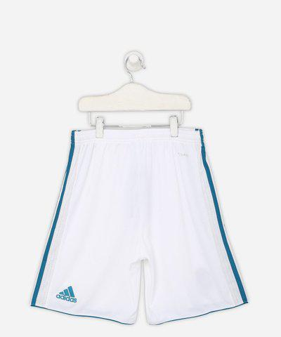 ADIDAS Short For Boys Sports Solid Polycotton(White, Pack of 1)
