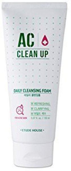 Etude House Ac Clean Up Daily Cleansing Foam(100 ml)