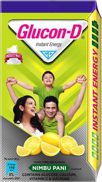 Glucon-D Energy Drink(450 g, Nimbu Pani Flavored)