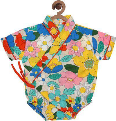 CHUTPUT Girls Mini/Short Casual Dress(Multicolor, Half Sleeve)