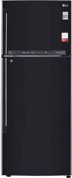 LG 471 L Frost Free Double Door 3 Star Convertible Refrigerator(Ebony Sheen, GL-T502FES3)