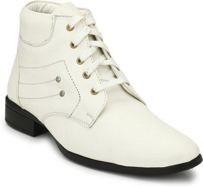 Eego Italy And Elegant Ankle Length Boots White