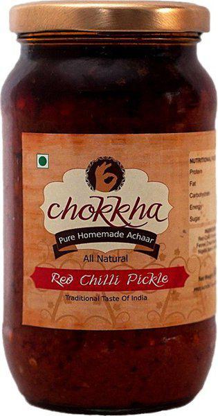 chokkha Red Red Chilli Pickle(400 g)