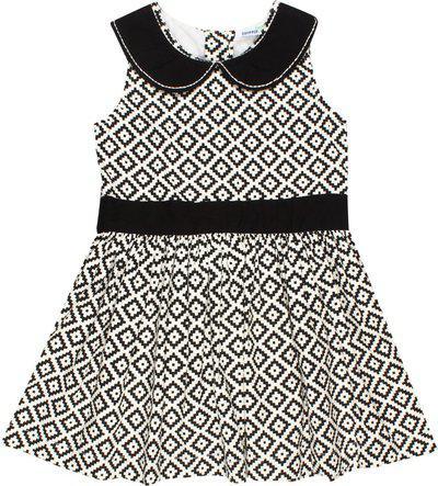 ShopperTree Girls Midi/Knee Length Casual Dress(Black, Sleeveless)