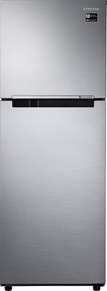 Samsung 253 L Frost Free Double Door 2 Star (2019) Refrigerator(Elegant Inox, RT28N3022S8/NL)