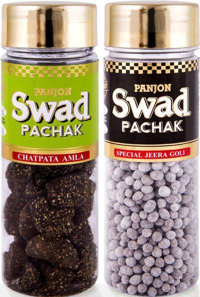 Swad Pachak Special Jeera Goli, Chatpata Amla Candy Mouth Freshener(2 x 110 g)
