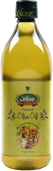 Solasz Spanish Pomace Olive Oil Plastic Bottle(1 L)