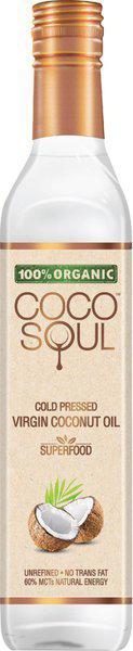 Coco Soul Cold Pressed Organic Virgin Coconut Oil Plastic Bottle(250 ml)
