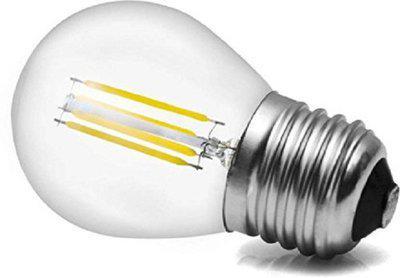 Roshni & Light 3 W Round E27 LED Bulb(White)