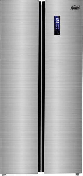 Mitashi 510 L Frost Free Side by Side Inverter Technology Star (2019) Refrigerator(Silver, MiRFSBS1S510v20)