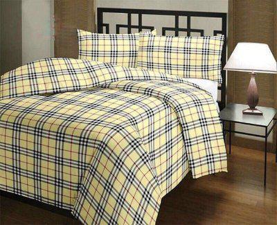 GINI HOME Checkered Single Dohar(Poly Cotton, Multicolor)