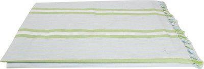 Saagar Tex Checkered Double Comforter(Cotton, White)