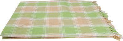 Saagar Tex Printed Double Comforter(Cotton, Green)