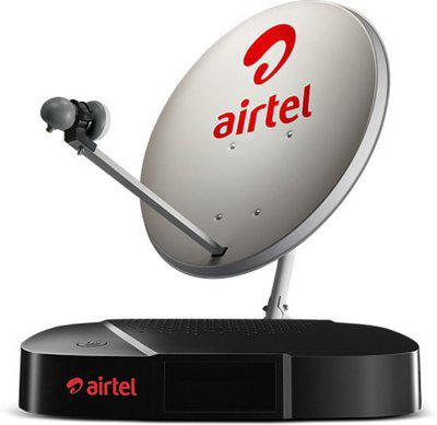 Airtel 1 Month Freedom Sport and Kids HD Pack HD Set Top Box With Recording Feature