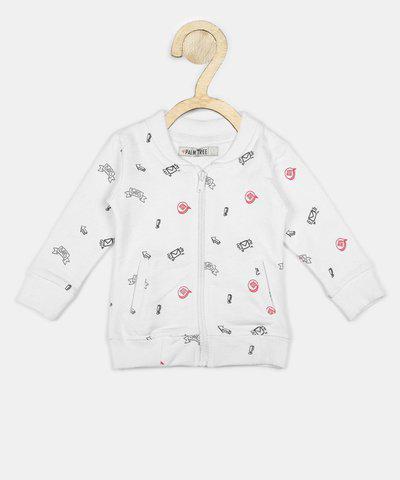 Gini & Jony Full Sleeve Printed Girls Jacket