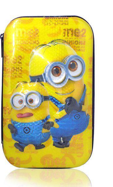 RAAYA pencil box Cartoon Art Plastic Pencil Box(Set of 1, Multicolor)