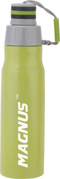 Magnus STREAK 750 ml Stainless Steel Fridge Bottle 750 ml Bottle(Pack of 1, Green)