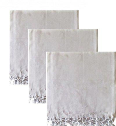 EthnicAlive Plain Single Dohar(Microfiber, White)
