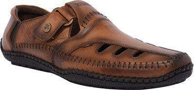Buckaroo Duarte-Brown Men's Leather Strollers-40 EU /  Men