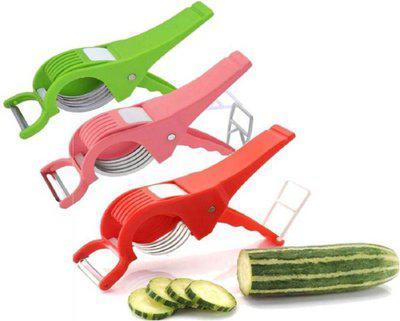 Kombuis Kitchenware Vegetable & Fruit Grater & Slicer(3 Veg Cutter)