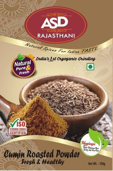 ASD Rajasthani Cumin Roasted Powder 100g - Pack of 4(100 g)
