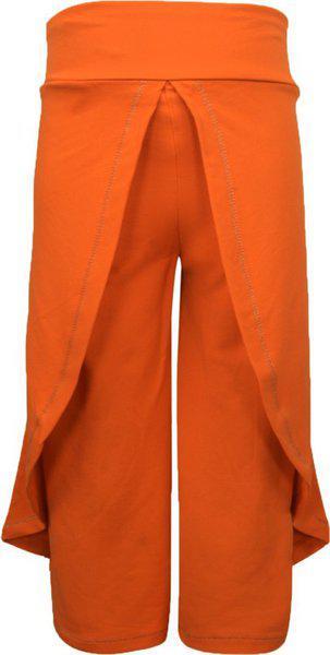 Lil Orchids Regular Fit Women Orange Trousers