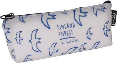 Enwraps Animal Animal Art Canvas Pencil Box(Set of 1, Multicolor)