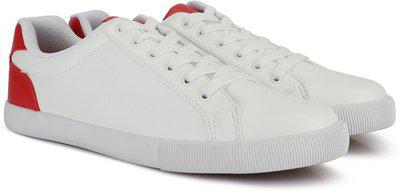 Nautica Sneakers For Women(Red, White)