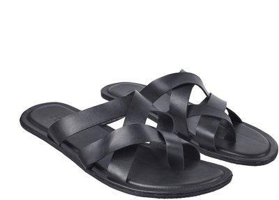 Metro Men Navy Sandals