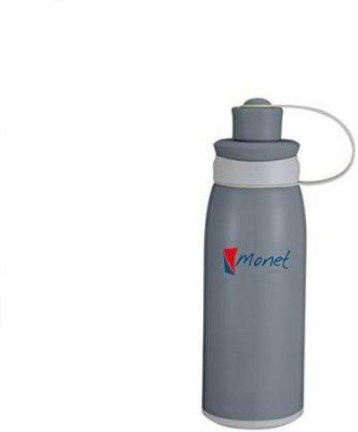 Monet Splash Stainless Steel Bottle 500 ml 500 Sipper(Pack of 1, Black)