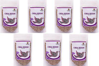 Jioo Organics Brown Chia Seeds(Rich in Antioxidant & omega3 fatty acid) 100 g(100 g)