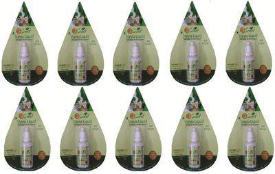 So Sweet Stevia Liquid -Pack -10-4000 Drops - Natural Sweetener 100% Natural Sweetener-Sugarfree Sugar(500 g, Pack of 10)