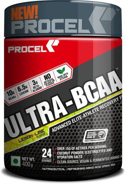 PROCEL Ultra-BCAA - BCAA(400 g, Lemon-Lime)