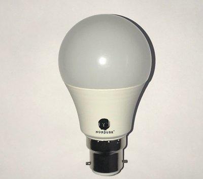 nordusk 12 W Round B22 LED Bulb(White, Pack of 6)