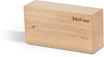 MeFree Eco-Friendly Wooden Yoga Blocks(Brown Pack of 1)