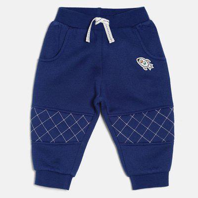 Mini Klub Track Pant For Boys(Blue, Pack of 1)