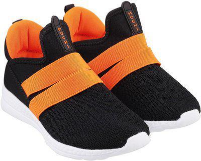 Mochi Boys Slip on Sneakers(Black)