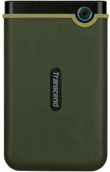 Transcend 1 TB External Hard Disk Drive(Military Green)