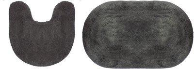Fully Grey Cotton, Chenille Carpet(76.2 cm X 45.7 cm)