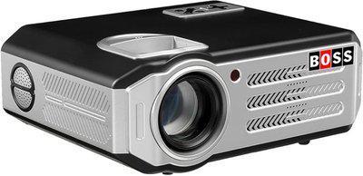 Boss S11 5700 Lumens LED HD Portable Projector(Black)